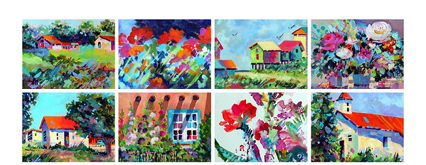 Dyan Newton - some of her paintings.