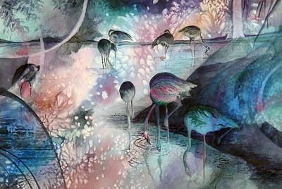 "Pitman, Karin ""Flamingo Blues"" 2018-10, ABQ"