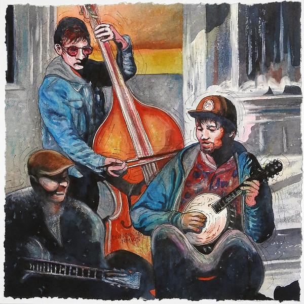 "Artisan Santa Fe Award: Duncan, Woody ""French Quarter Trio"""