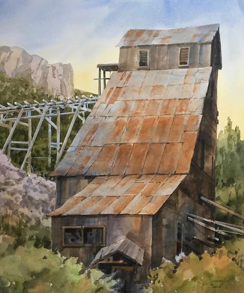 "Jack Richeson & Co Award: Edmondson, Bud ""Sierra Buttes Mine"""