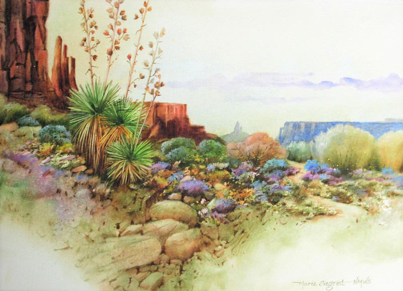 """Best of New Mexico Award: Siegrist, Marie """"Monument Impressions"""""""