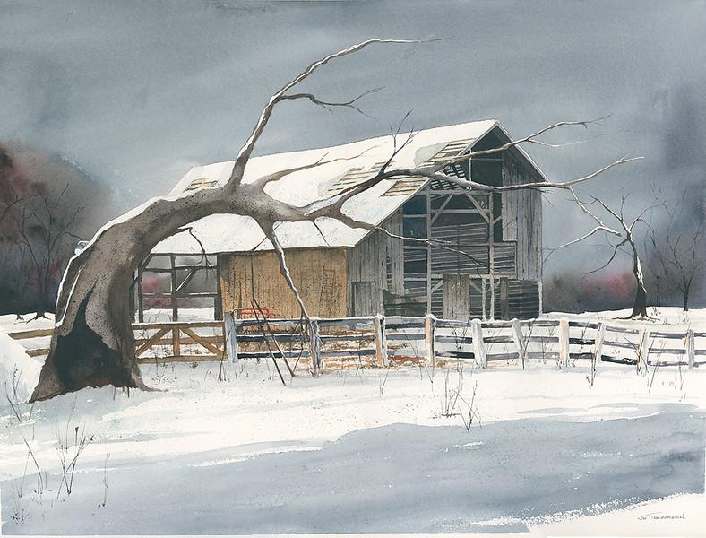 "Guerilla Painters Award: Teegarden, Jim ""Old Barn"""