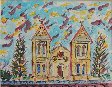 "Paul Vakselis ""Psychedelic Basilica"""
