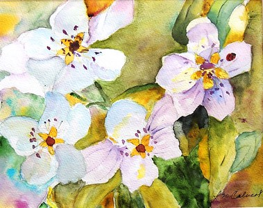 "Joy Calvert  NMWS ""Spring Blossoms"" NMWS-C 201803"