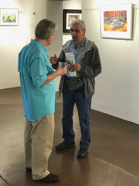 2018-05 NMWS ABQ Spring Show Opening Recepti