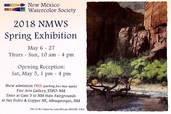 2018-05 NMWS ABQ Spring Show Accepted Paintings