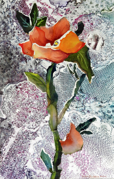 """Birdsong, Susan """"Spring Roxe"""" 2018-05, ABQ"""