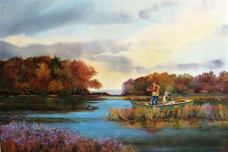 "Siegrist, Marie ""Fishing Buddies"" 2018-05, ABQ"