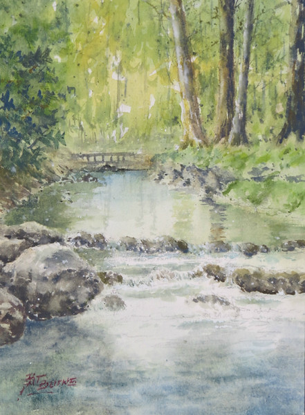 """Burns, Pat """"Cool River"""" 2018-05, ABQ"""