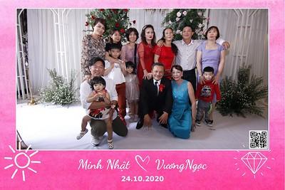 Minh Nhật & Vương Ngọc wedding instant print photobooth in Vung Tau | Chụp ảnh in hình lấy liền Tiệc cưới tại Vũng Tàu | Photobooth Vung Tau