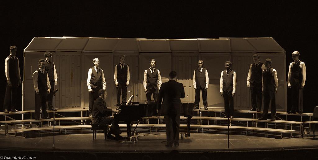 Choral Concert NNHS B&W LR-6650