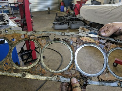 Head gasket in terrible state - ready to blow...