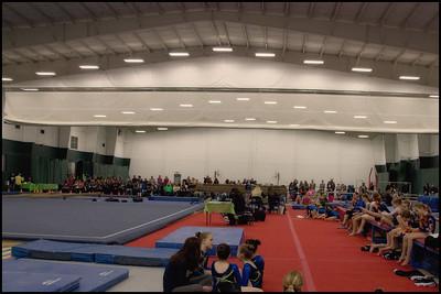 F 786 North Olmsted Gymnastics Meet