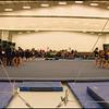A 737 View of gymnastics Area for Meet