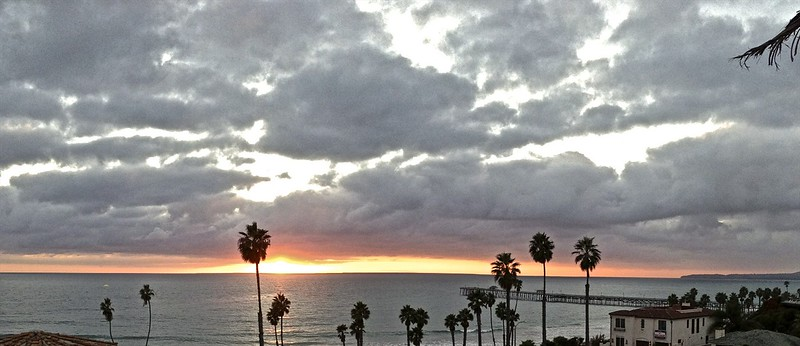 It was time to say good-bye to my hometown of San Clemente, California.