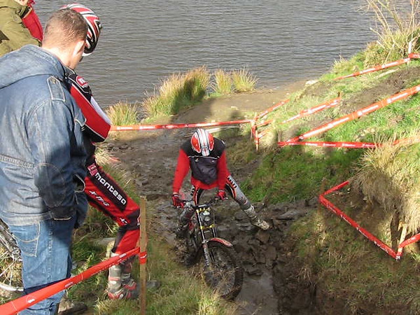 November 2007 saw the launch of the 2008 Montessa Cota just outside Ramsbottom in Lancashire. 'Dibbsy' demonstrated just what can be done when his incredible skills are combined with one of the best trials bikes on the market.<br /> 2006-11-11