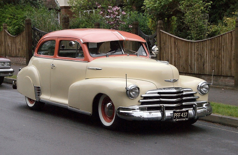 PFF 437 CHEVROLET COUPE 1947