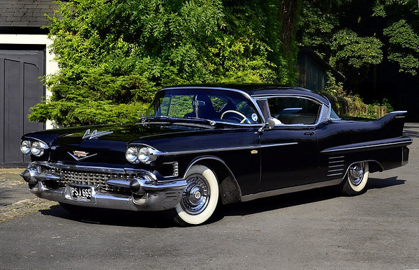 PSJ 668 CADILLAC COUPE 1958