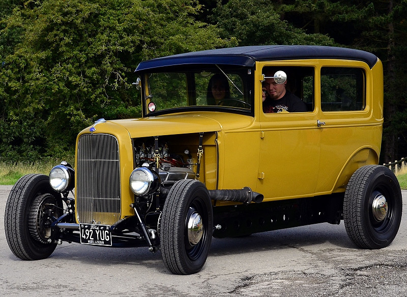 492 YUG FORD MODEL A SEDAN 1930