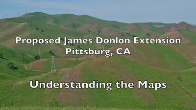 Save Mount Diablo - Proposed James Donlon Extension - Understanding the Maps