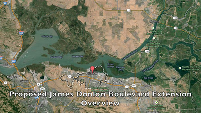 Save Mount Diablo - Proposed James Donlon Boulevard Extension - Overview