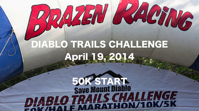 Save Mount Diablo and  Brazen Racing Trails Challenge 2014