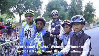 Save Mount Diablo Challenge - Jenny Slawta
