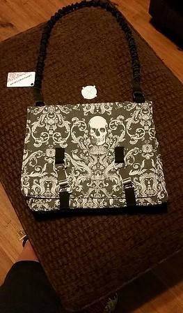 Limited Edition Charcoal Skull NORB (No Ordinary Range Bag)