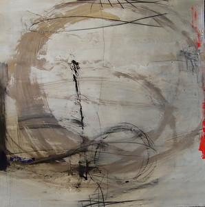 (#0501-4)Kempton4  30x30 on paper