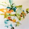 Flora I-Hibberd, 40x40 canvas