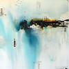"Fiction I-Carney, 38""x50"" on canvas"