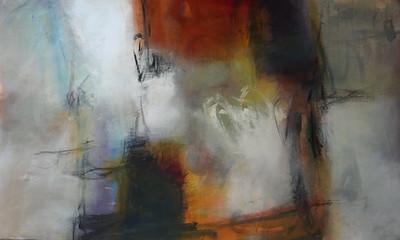Abstract 15-80,Kempton (AERK15-80), 80x48 canvas