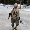 Carrying some 40+ old vintage Asnes skis, Asolo Snowfield boots and sporting a norwegian sweater and huge cowbell, this guy yelled for every competitor, every lap.
