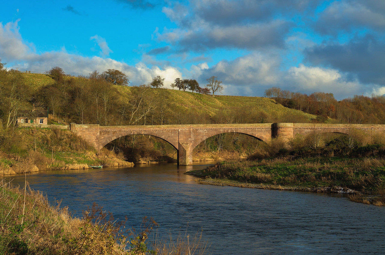ENGLAND BRIDGE AT NORHAM