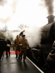 FOXFIELD RAILWAY (1940's DAY), STAFFORDSHIRE 0017