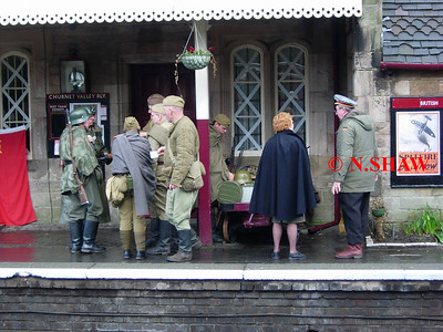 FOXFIELD RAILWAY (1940's DAY), STAFFORDSHIRE 0024