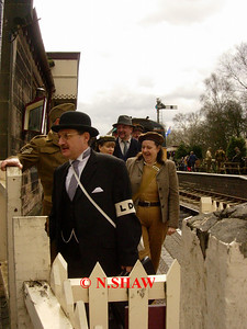 FOXFIELD RAILWAY (1940's DAY), STAFFORDSHIRE 0005