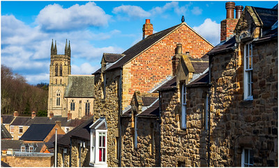 TOWERS, SPIRES & CHIMNEY POTS IN DURHAM CITY # 2