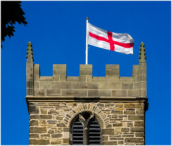 CHURCH OF ST. MARGARET OF ANTIOCH - FLYING THE FLAG