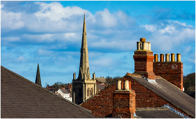 TOWERS, SPIRES & CHIMNEY POTS IN DURHAM CITY # 3