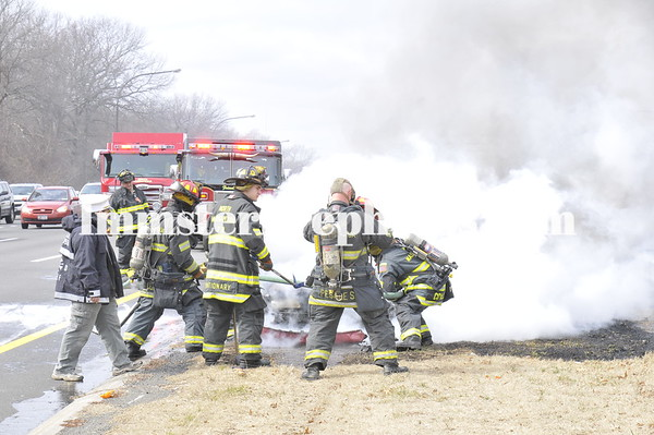 NORTH MASSAPEQUA FD CAR FIRE SSP 3-9-11