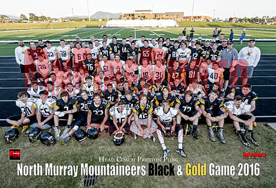 A1 - NORTH MURRAY BLACK & GOLD 2016