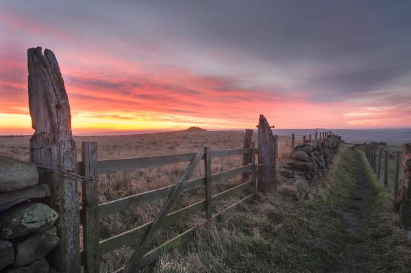 Boulby Moor Footpath