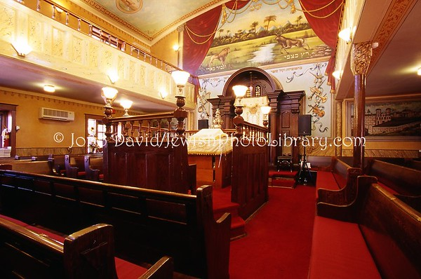 CANADA, Ontario, Toronto. Congregation Knesseth Israel, a.k.a. The Junction Synagogue. 2008