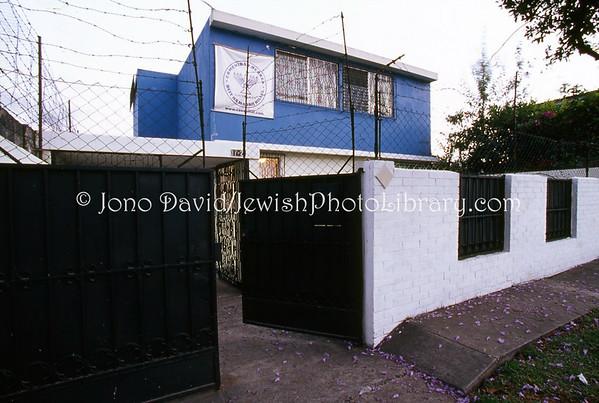 GUATEMALA, Guatemala City. Casa Hillel, Beit Ha Madrij. (2008)