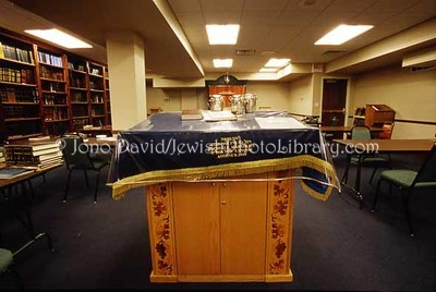 USA, Illinois, Chicago. Adas Yeshurun Anshe Kanesses Israel Synagogue, chapel. (2007)