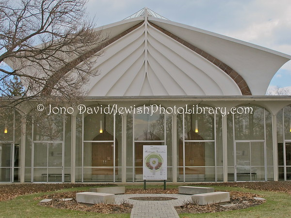 USA, Illinois, Glencoe (Chicago): North Shore Congregation Israel (4.2011)