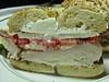 US 5204  White fish on bagel