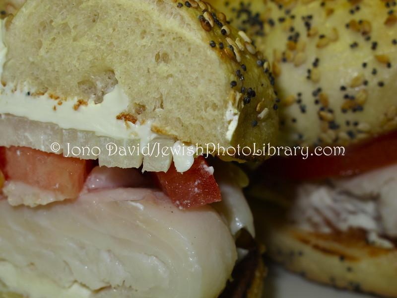 US 5206  White fish on bagel