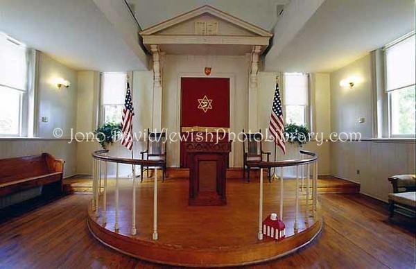 USA, Washington, D.C., Lillian & Albert Small Jewish Museum (originally, Adas Israel Synagogue). (2005)